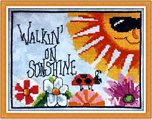 Walkin' On Sunshine from Luhu Stitches - click to see more