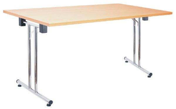 stół składany Domino SCL chrom