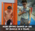 How Ervins Line Gained 64 lbs of Muscle – Diet and Workout Plan Revealed