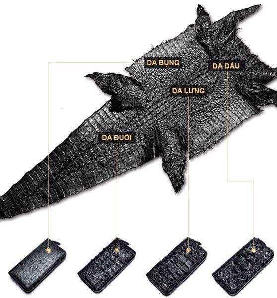 chọn da cá sấu nguyên con đẹp 4