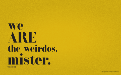 The Craft movie quote wallpaper for screen resolution 1680x1050