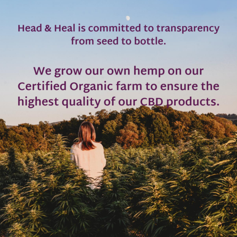 Head & Heal is committed to transparency from seed to bottle.