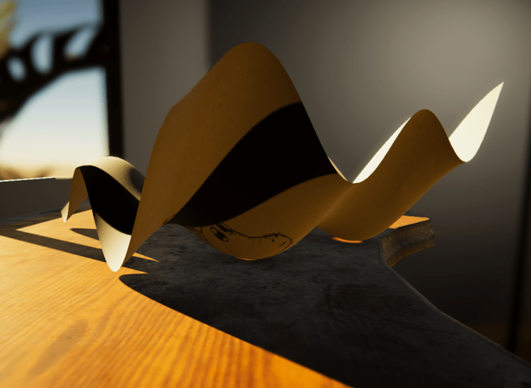 subsurface scattering sample