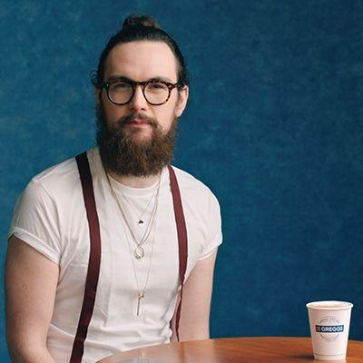 Coffee Hipster - He's better than you.