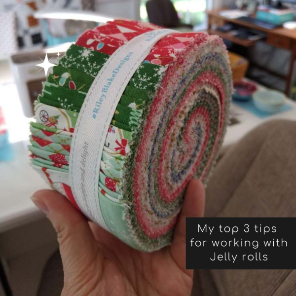 Pat sloan top tips for jelly rolls
