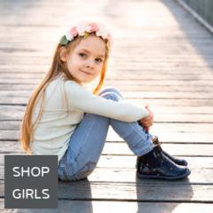 Shop girls shoes online